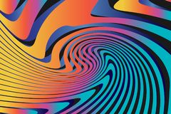 Fond coloré abstrait géométrique de modèle Photographie stock