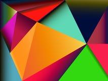 Fond coloré abstrait pour la conception Image libre de droits