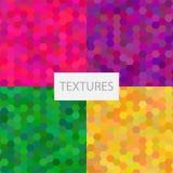 Fond coloré avec des formes géométriques Image libre de droits