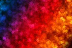Fond coloré avec l'effet de peinture de polygone Photo stock
