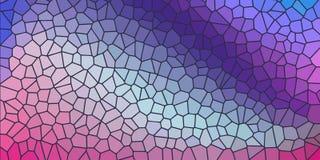 Fond coloré avec l'imitation du verre coloré image libre de droits