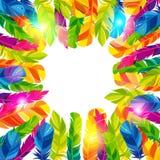 Fond coloré avec le résumé lumineux illustration stock