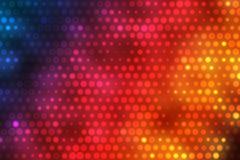 Fond coloré avec les points lumineux Images stock