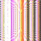 Fond coloré avec les vagues circulaires Image de pixel Images stock