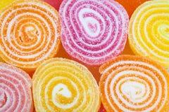 Fond coloré délicieux de sucreries Photo libre de droits
