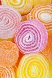 Fond coloré délicieux de sucreries Photographie stock