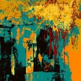 Fond coloré d'éclaboussure d'encre, éléments de conception Photographie stock