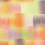 Fond coloré d'édredon rayé grunge Photos libres de droits