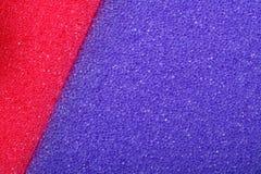 Fond coloré d'éponge de mousse de cellulose de texture Photos stock