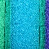 Fond coloré d'éponge de mousse de cellulose de texture Photographie stock libre de droits