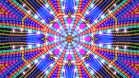 Fond coloré d'étoile Image stock
