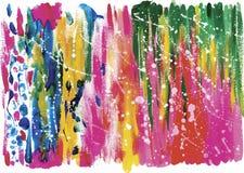 Fond coloré d'abrégé sur aquarelle Images stock