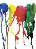 Fond coloré d'abrégé sur aquarelle Image stock