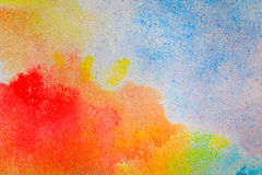 Fond coloré d'abrégé sur modèle de mosaïque de texture de gravier Image libre de droits