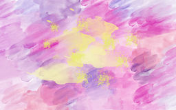 Fond coloré d'aquarelle Photographie stock libre de droits