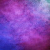 Fond coloré d'aquarelle de trame Photos libres de droits