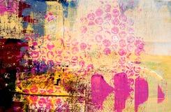 Fond coloré d'art Photographie stock