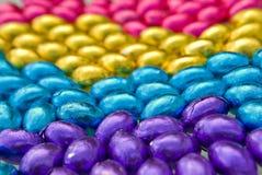 fond coloré d'oeuf de pâques Photo libre de droits