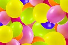 Fond coloré de ballons image libre de droits