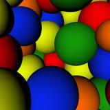 Fond coloré de bille Photographie stock libre de droits