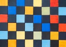 Fond coloré de bloc Photographie stock libre de droits