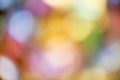 Fond coloré de bokeh Photo libre de droits
