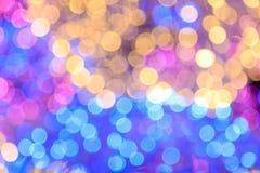 Fond coloré de bokeh Image stock