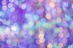 Fond coloré de Bokeh Photographie stock libre de droits