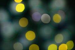 Fond coloré de bokeh de lumières, Chrismas image stock