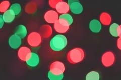 Fond coloré de bokeh de lumières, Chrismas image libre de droits