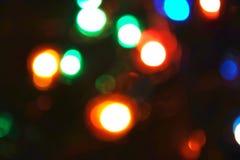 Fond coloré de bokeh de lumières, Chrismas photographie stock libre de droits