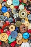 Fond coloré de boutons images stock