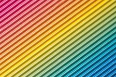Fond coloré de carton ondulé Photographie stock libre de droits