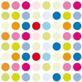 Fond coloré de cercle illustration de vecteur