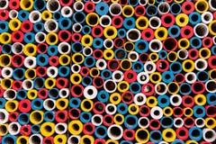 fond coloré de cercles Image libre de droits