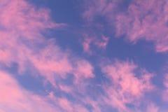 Fond coloré de ciel d'aube photo libre de droits