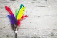 Fond coloré de clavettes Photographie stock libre de droits