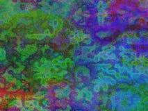 Fond coloré de Coral Pattern Abstract illustration libre de droits