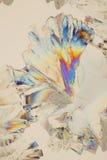 Fond coloré de cristaux Images libres de droits