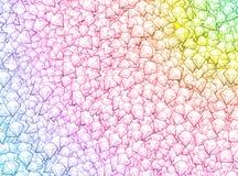Fond coloré de diamant Photographie stock