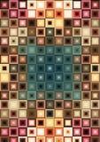Fond coloré de diamants Photos libres de droits