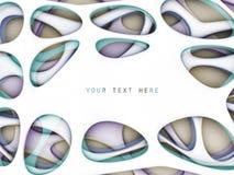 Fond coloré de forme abstraite Images stock
