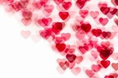 Fond coloré de forme de coeur Image stock