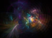 Fond coloré de fractale Photographie stock libre de droits