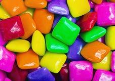 Fond coloré de gomme Photographie stock