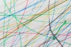Fond coloré de griffonnage Photos libres de droits