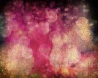 Fond coloré de grunge de Bokeh Image libre de droits