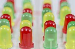 Fond coloré de LED Images stock