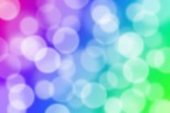 Fond coloré de lumière d'abrégé sur bokeh Photos stock