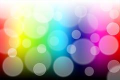 Fond coloré de lumière d'abrégé sur bokeh Photo libre de droits
